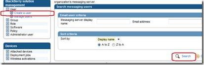 BAS Create a user
