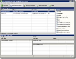 Directory Synchronization FIM Management Agents